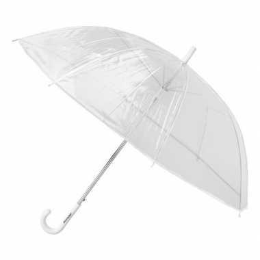 Doorzichtige paraplu 86 cm